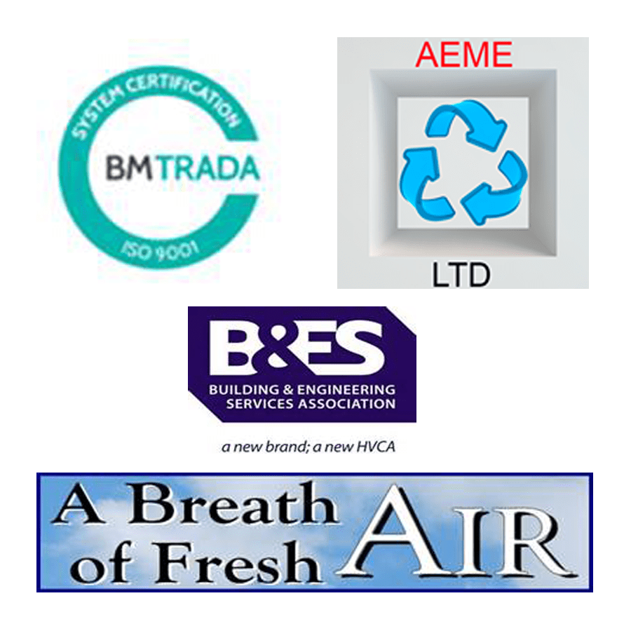 Cyclone Ducting and Extraction Services Oxfordshire Accreditations BM Trada B&ES AEME